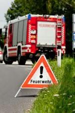Feuerwehr-Einsatzstelle