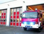 Feuerwehr-Torausfahrt