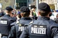 Polizei-Demo