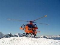Rettungshubschrauber-Gebirge