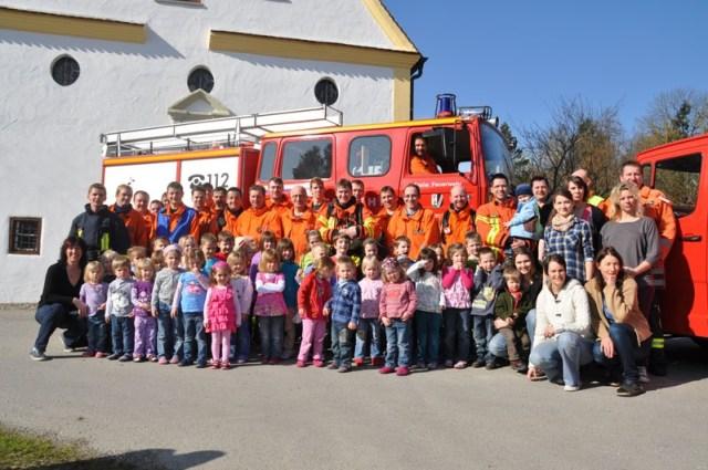 Feuerwehr Gutenzell Kindergarten Brandschutzubung 17032012215