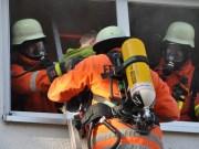Feuerwehr Gutenzell Kindergarten Brandschutzubung 17032012