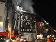 2012-03-27 wangen allgaeu Grossbrand Innenstadt Fachwerk Titel