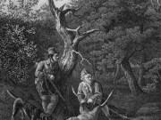 Lithografie von Louis Kramp fuer EZink Die Wilddiebe1 ca1830