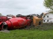 13-05-2013 ostallgäu oal-10 unfall kraftiesried betonmischer feuerwehr-unterthingau bringezu new-facts-eu