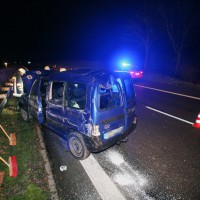 PKW Unfall A7 b Vöhringen