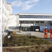 Neu-Ulm Lessing Gymn Gefahrguteinsatz