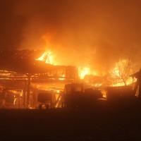Missen - Großbrand vernichtet landwirtschaftlichen Betrieb