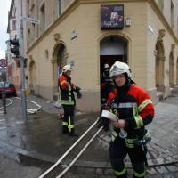 Ulm, Brandeinsatz im Spielcasino