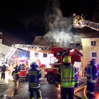 Ichenhausen Gebäudebrand