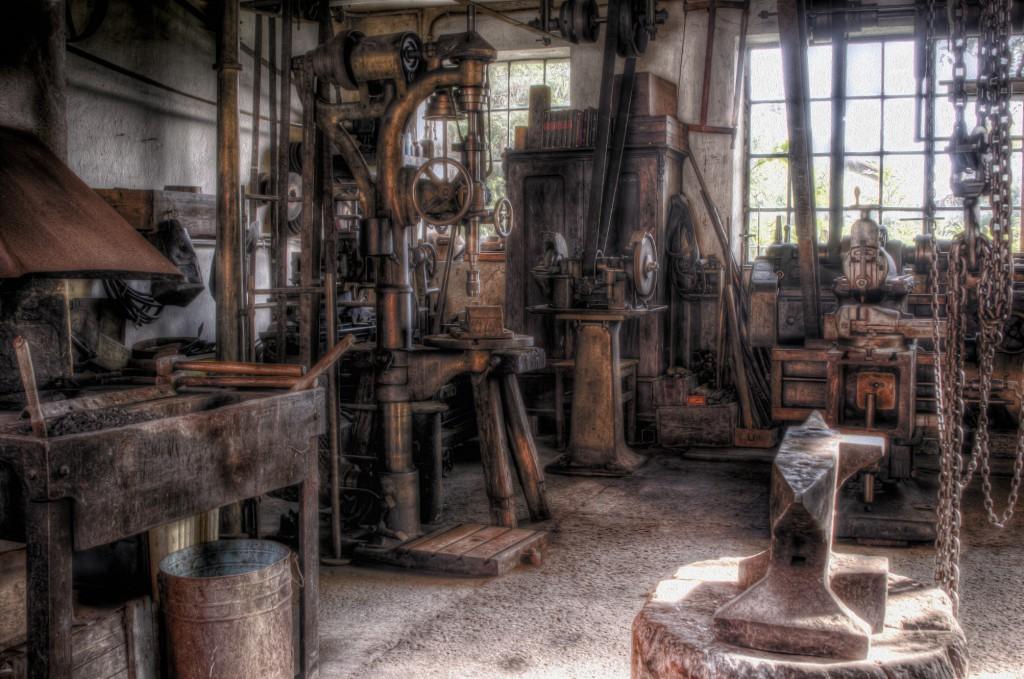 """Auch die historische Werkstatt """"Alter Mayr"""" in Ichenhausen ist am Internationalen Museumstag geöffnet."""