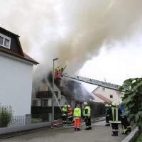 BY Vöhringen Wohnhausbrand
