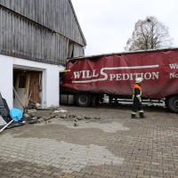 02.12.2014 LKW-in-Haus-Totalschaden-Fahrer-tot-Feuerwehr-Polizei- Rettungsdienst-Halblech-Vollsperrung-Bringezu-New-facts (46)