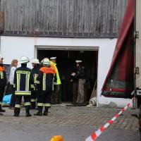 02.12.2014 LKW-in-Haus-Totalschaden-Fahrer-tot-Feuerwehr-Polizei- Rettungsdienst-Halblech-Vollsperrung-Bringezu-New-facts (64)
