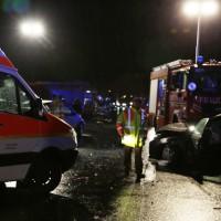 A96-Bad Wörishofen - Zahlreiche Verletzte nach Karambolage auf der Autobahn