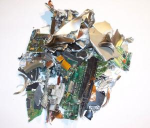 Wirklich vernichtet sind Daten von einer Festplatte erst, wenn diese komplett unbrauchbar gemacht wurde. Foto: Landratsamt Unterallgäu