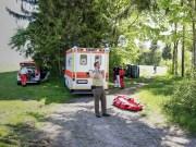 VU-Rpsshaupten-Halblech-OAL 1-Fahrerin-schwerverletzt-eingeklemmt-Autp deformiert-Feuerwehr-Rettungsdienst-Rettungshubschrauber-Ostallgäu-Bringezu (41)_tonemapped