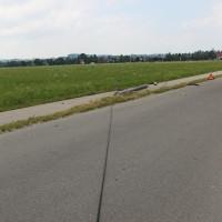 Unfall-Elbsee-Telefonmast-BMW-Seniorin-verletzt-kein Telefon-Mast-abgerissen-Rettungdienst-Hubschrauber-new-facts.eu-Thorsten-Bringezu-Aitrang (9)