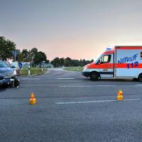 Unfall-Motorrad-Marktoberdorf-Geisenried-B472-schwer-verletzt-PKW-Rettungsdienst-Notarzt-Bringezu-new-facts (13)