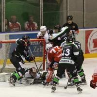 06-11-2015_Memmingen_Eishockey_Randale_Indians_ECDC_Hoechstadt_Polizei_Fuchs_new-facts-eu0028