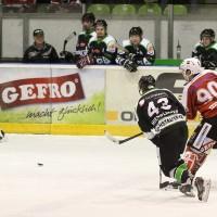 06-11-2015_Memmingen_Eishockey_Randale_Indians_ECDC_Hoechstadt_Polizei_Fuchs_new-facts-eu0068