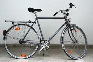 Wer kennt dieses Fahrrad? Foto: Polizei