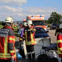 04-07-2016_A7_Woringen_motorrad-Gespann_Unfall-Feuerwehr_Poeppel_0006