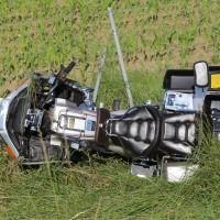 04-07-2016_A7_Woringen_motorrad-Gespann_Unfall-Feuerwehr_Poeppel_0007