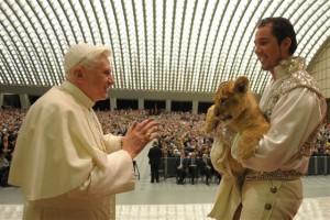 A Papstlöwe Prinz Benedikt