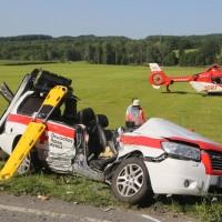 2017-07-19_B465_Leutkirch_Diepoldshofen_Unfall_DRK_Lkw_Feuerwehr_Poeppel-0007