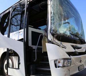 Bus Unfall Symbolbild