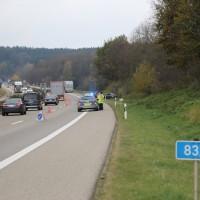 2017-11-10_A96_Stetten_Erkheim_Unfall_Pkw_Lkw_Polizei_Poeppel_0002