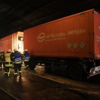 LKW Brand A8 Lämmerbuckeltunnel