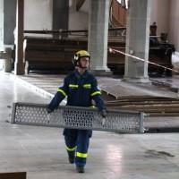 20180312 Einsatz THW in Sankt Jodoks Kirche Ravensburg 5