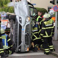 2018-07-07_Memmingen_Branunstasse_Machnigstrasse_Unfall_Feuerwehr_0006