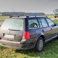 K1600_28.09.2018 Unfall B16 Mindelheim Motorrad rammt PKW beim Überholen (2)