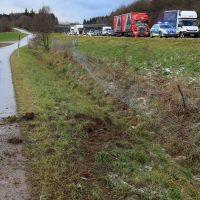 10.12.2018 Unfall A96 LKW Stetten Mindelheim (11)