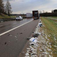 10.12.2018 Unfall A96 LKW Stetten Mindelheim (6)