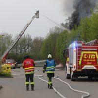 Grossbrand Ulm Donautal