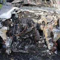 19.07.2019 Brand PKW A96 Bad Wörishofen Mindelheim BMW Totalschaden (1)