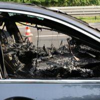 19.07.2019 Brand PKW A96 Bad Wörishofen Mindelheim BMW Totalschaden (10)