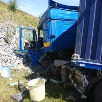 25.07.2019 Unfall LKW A96 kisslegg(4)