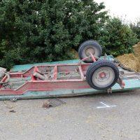 05.08.2019 Unfall Kirchheim Derndorf tödlich 22 Jahre LKW übersieht Traktor (20)