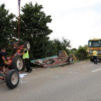 05.08.2019 Unfall Kirchheim Derndorf tödlich 22 Jahre LKW übersieht Traktor (38)