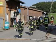 2019-08-11_Biberach_Mittelbuch_Biogasanlage_Brand_BHKW_Feuerwehr_Poeppel_0008