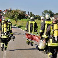 2019-08-11_Biberach_Mittelbuch_Biogasanlage_Brand_BHKW_Feuerwehr_Poeppel_0009