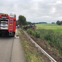 22.08.2019 Unfall schwer Wangen LKW A96 (5)