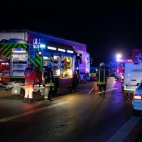 2019-12-10_a96-Mindelheim_Unfall_mehrere_Vereltzte_Feuerwehr_Polizei_Rizer191210 A96 MANV-10