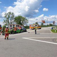 21.06.2020 Unfall B312 Frontal Feuerwehr Rettungsdienst (2)
