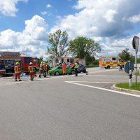 21.06.2020 Unfall B312 Frontal Feuerwehr Rettungsdienst (5)